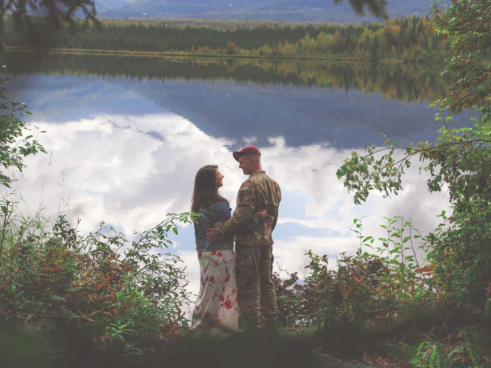 Lindsey Pisarcik dan suaminya Ben