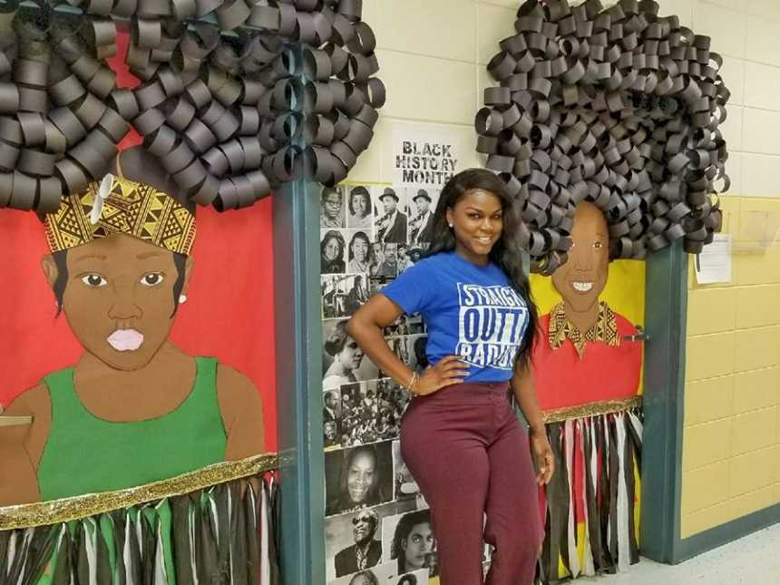 Black History Classroom Decorations : Teacher s insanely awesome black history month decorations go
