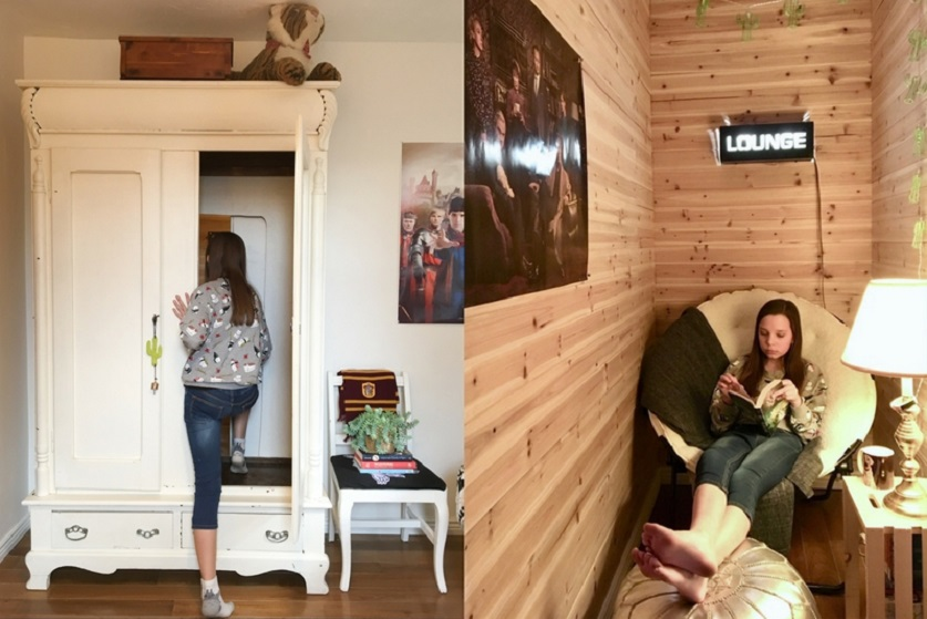Nice U0027There Was No Turning Backu0027: Mom Builds Magical Hidden Room Through Teenu0027s  Closet U2013 Love What Matters