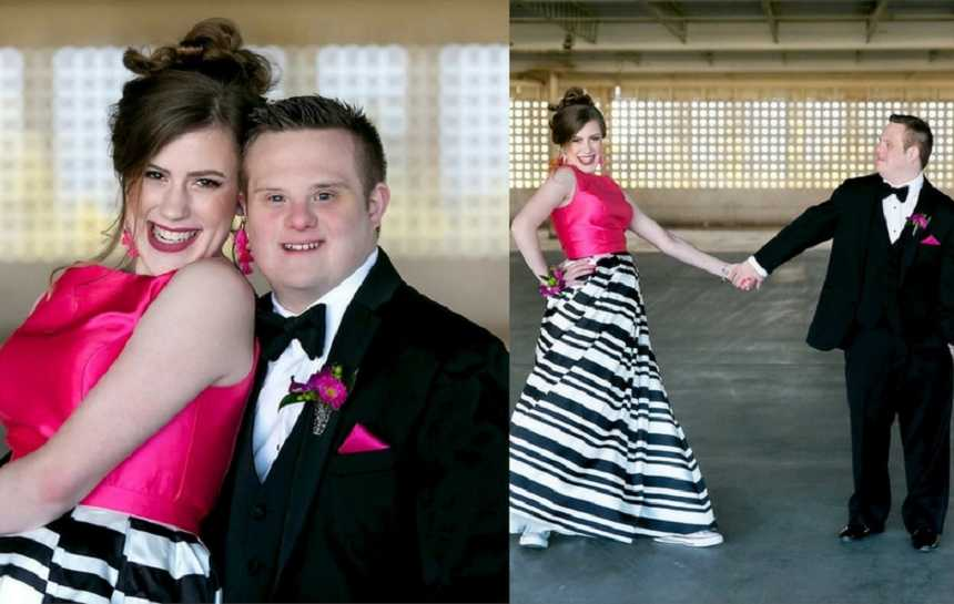 He swooped in and saved her\': Prom dates with special needs finally ...